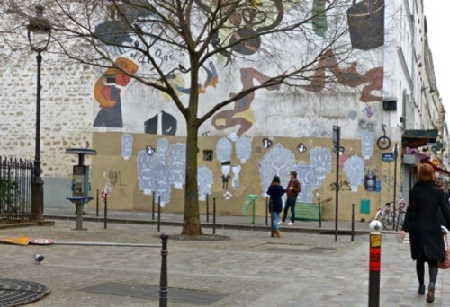 street-art Le Chevallier fresque 6