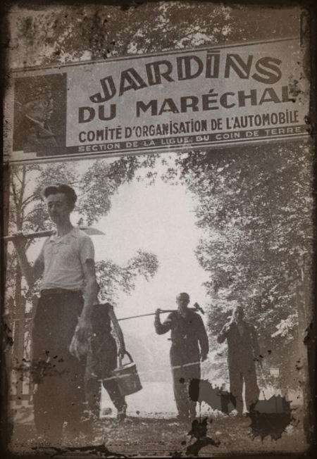 le retour à la terre du gouvernement de Vichy en 1940