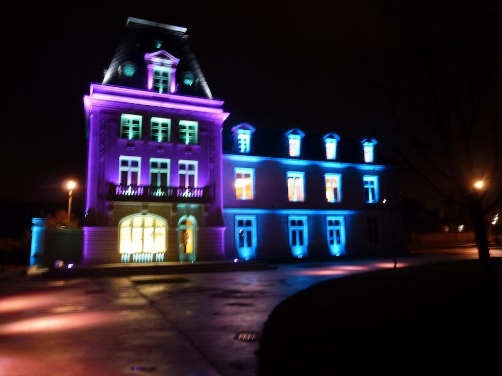 Les illuminations de Saint Cyr sur Loire 2