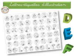 Illustrations pour des chants & poèmes sur les lettres