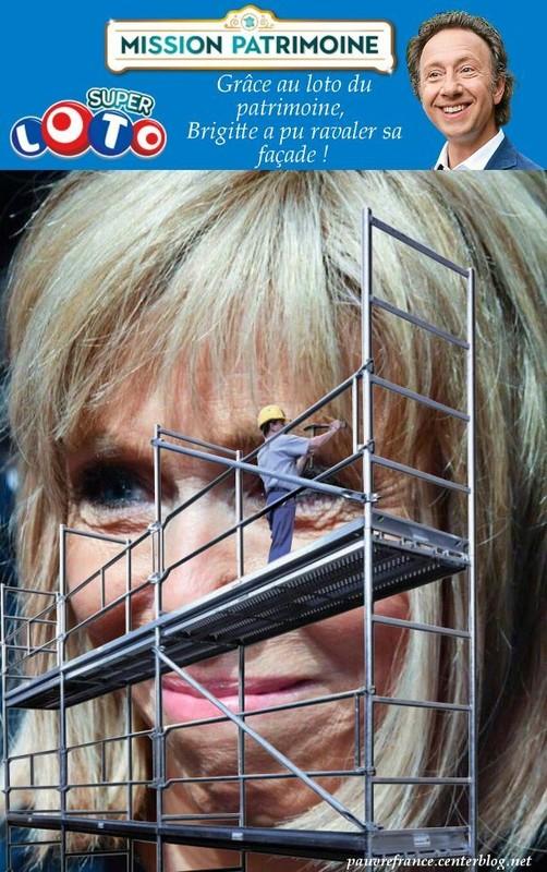 Brigitte macron et la chirurgie esthétique.