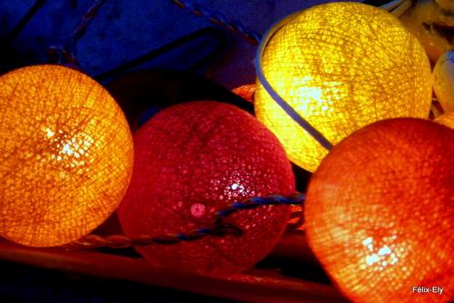 Belles lumières décoratives