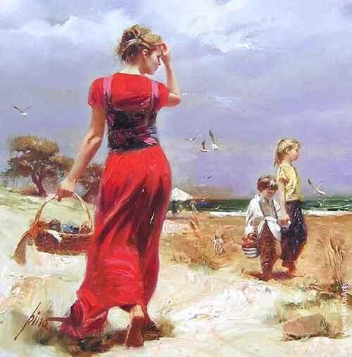 DAENI, Pino. Peintre italien  (Artistes peintres et leurs oeuvres) (Arts peintures)