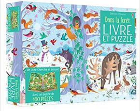 Coffret dans la forêt (livre + puzzle de 100 pièces)