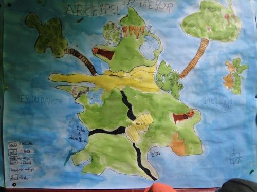 cartes  imaginaires  : les réalisations