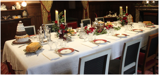 Noël à Azay-le-rideau ( dans la cuisine)