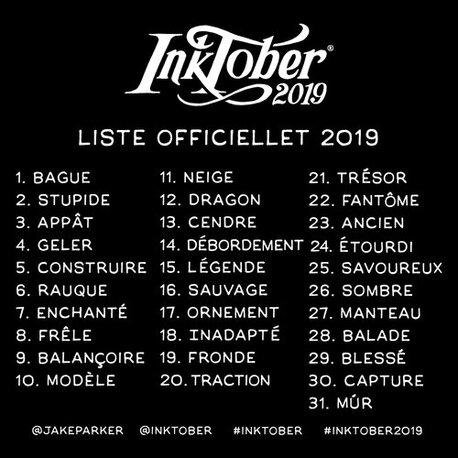 Inktober 2019!