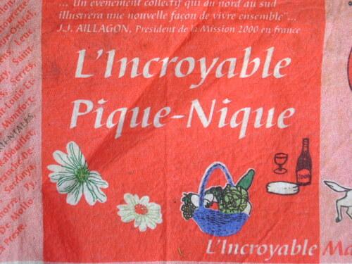 La Méridienne verte et L'Incroyable pique-nique (14 juillet 2000)
