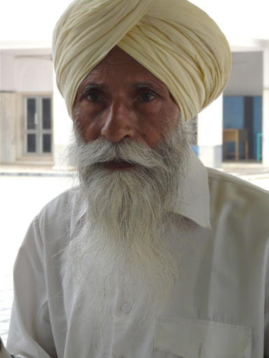 portrait de sikh