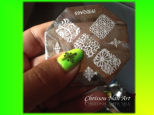 Arabesque en stamping