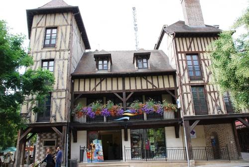 Flânerie dans Troyes (photos)