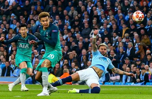 Manchester City 4-3 Tottenham