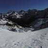 Du col de Peyreget (2320 m), Lurien, Palas, Balaïtous et Soques