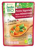 Test de soupe végétarienne de chez Jardin Bio