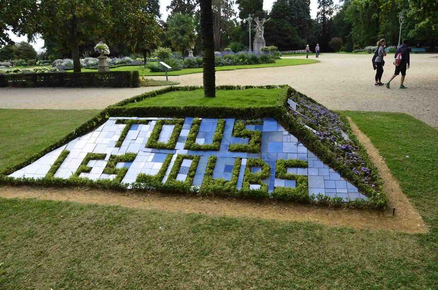 « Parc du Thabor-Rennes »