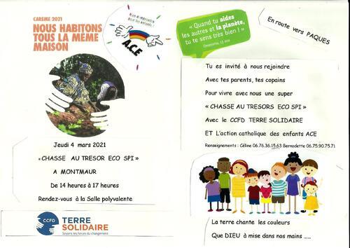 Jeudi 04 Mars à Montmaur: Une chasse au Trésor avec Enfants et Parents!