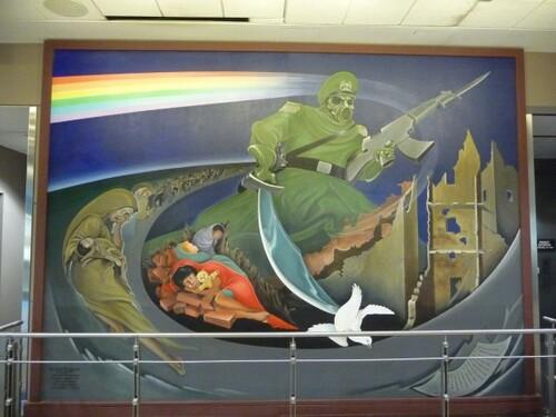Aéroport de Denver, le dernier dinosaure