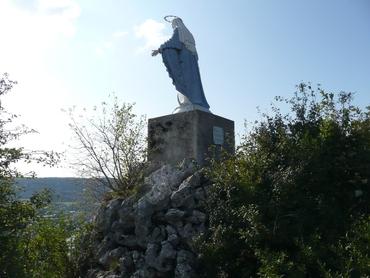 Ornans - La Roche du Mont - ND du Mont