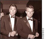 "Peter Lawford et Robert ""bobby"" Kennedy"