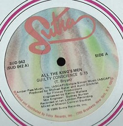 All The King's Men - Guilty Conscience