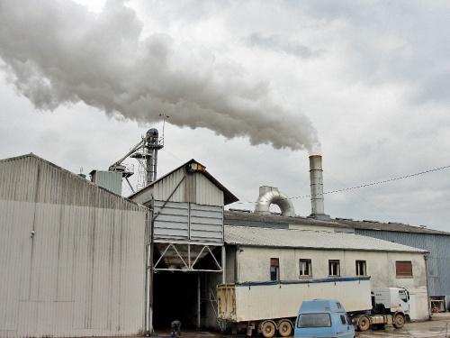 usine de déshydratation