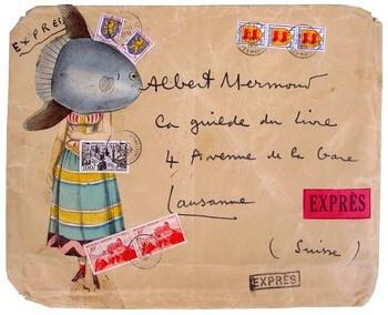 """Résultat de recherche d'images pour """"art postal prévert"""""""