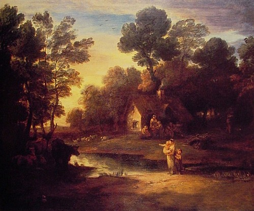 THOMAS-GAINSBOROUGH-WOODED-LANDSCAPE-WITH-CATTLE-BY-A-POOL-