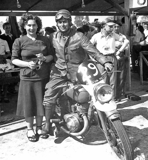 Bol d'Or 1950 : le deux-temps s'affiche au soleil