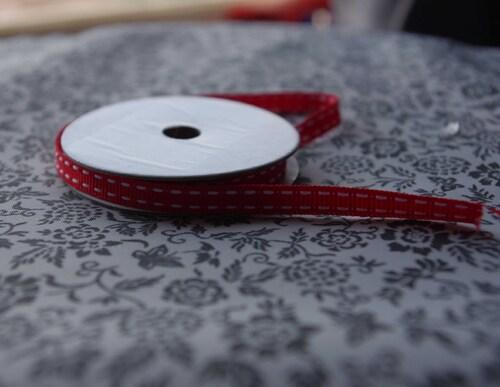 Les rubans en tissus