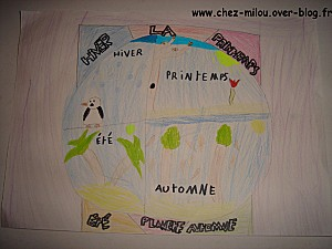 dessin enfant planète11