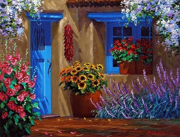 Peinture de : Mikki Senkarik