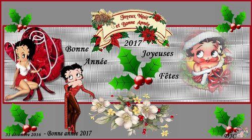 Betty Boop noël 2016