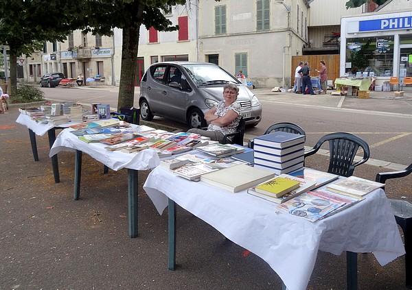 La traditionnelle Bourse aux livres et aux vieux papiers de Laignes a eu lieu le 24 juillet...