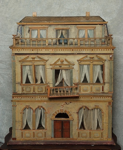Christian Hacker Doll house From the 1860s