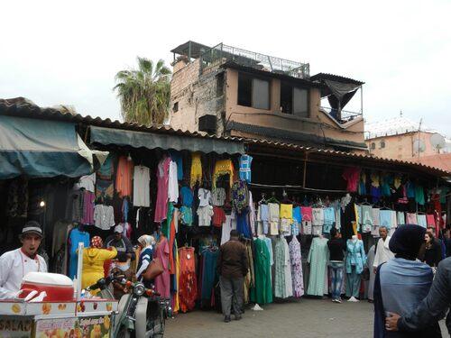 De Goulmima  à  Marrakech