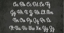 Un si bel alphabet.