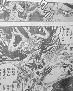 One Piece Spoils du Scan Chapitre 922 VF