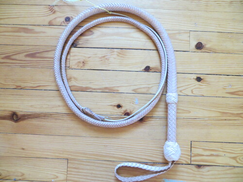 7 ft INDY  STYLE COWHIDE BULLWHIP