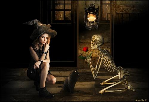 Offrande Halloween (Photomontage)