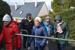 La balade du 20 mars à Fleury-sur-Orne