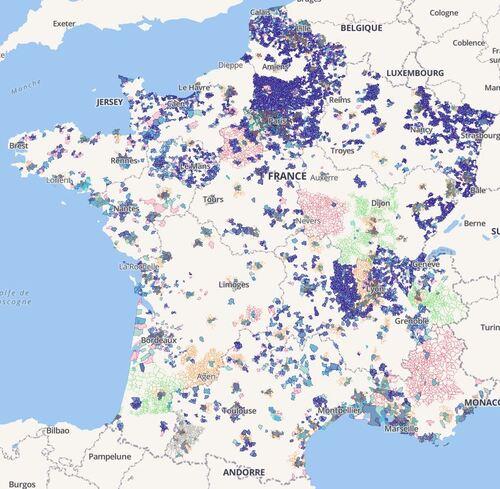 Acces A Internet Des Inegalites En France Et Dans Le Monde Le Blog Du Maitre