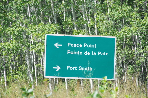 Jour 10 - Wood Buffalo NP et Peace Point