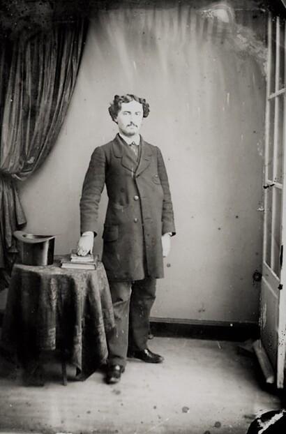 Un étudiant de la Faculté de droit de Toulouse en 1860