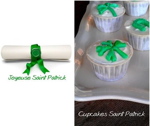 Cupackes Saint Patrick