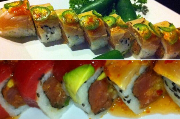 Le Spicy tuna Roll Challenge au Bushido de Charleston