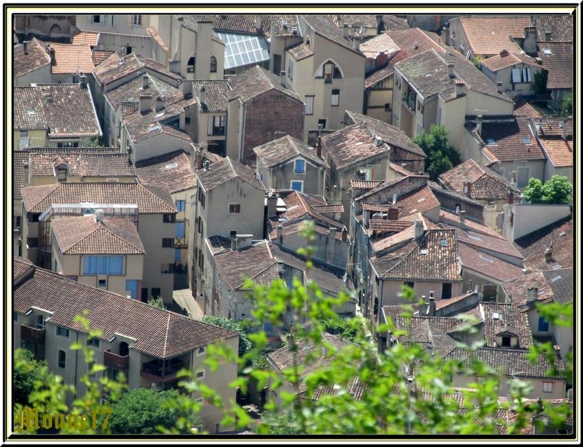Cahors (Lot) photos de juin 2014
