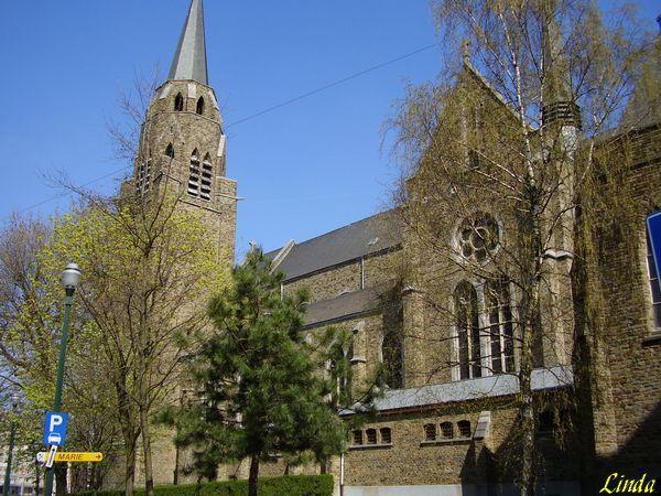 Bruxelles , Ixelles , Eglise-sainte-Croix