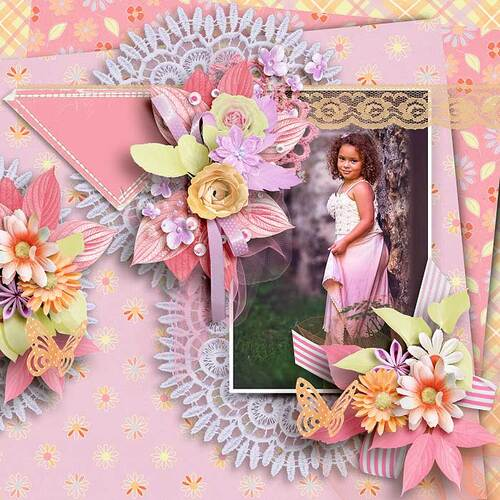 A Smile As Sweet As Spring by dentelle scrap