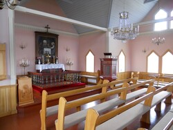 Les églises des fjords de l'Ouest de A à M