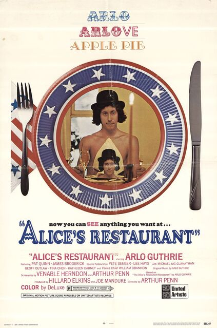 ALICE'S RESTAURANT BOX OFFICE